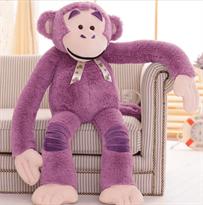 Мягкая игрушка фиолетовая обезьяна (115 см)