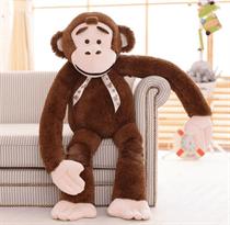 Мягкая игрушка коричневая обезьяна (115 см)
