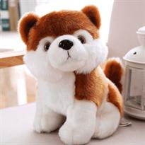Мягкая игрушка собака акита (23 см) купить недорого