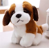 Мягкая игрушка собака сербернар (23 см)