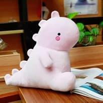 Мягкая игрушка розовый динозавр (40см) купить
