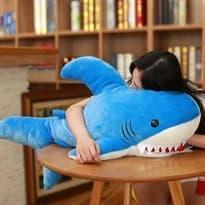 Плюшевая игрушка зубастая акула (90 см) купить