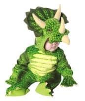 Костюм зелёный динозавр Трицератопс купить