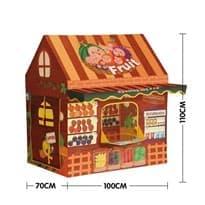 Игровая фруктовая палатка супермаркет с дверным звонком