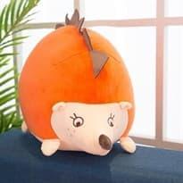 Плюшевая игрушка оранжевый Ежик (50 см) купить
