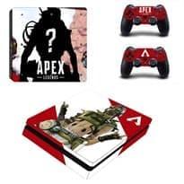Крутая наклейка с Октейном для PS4 (Apex Legends)