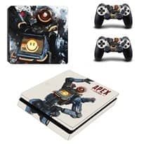 Крутая наклейка с Патфайндером для PS4 (Apex Legends) купить