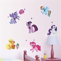 Интерьерная наклейка My Little Pony (70 x 50 см) купить