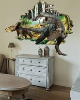 Интерьерная наклейка Ера Динозавров (86 x 100 см) КУПИТЬ