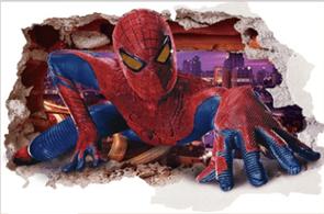 Интерьерная наклейка крадущийся Человек-Паук (57 x 87 см) купить
