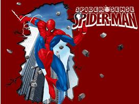 Интерьерная наклейка паучье чутье (100 x 70 см) Человек-Паук купить