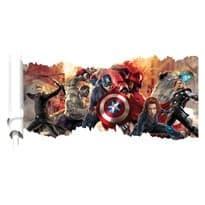 Интерьерная наклейка Мстители (50 x 90 см) купить