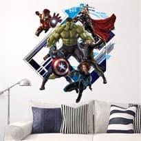 Интерьерная наклейка Мстители Эра Альтрона (60 x 60 см) купить
