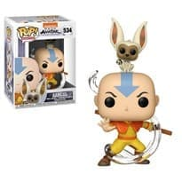Фигурка Аватар Аанг и Момо (Avatar - Aang with Momo POP) № 534 купить