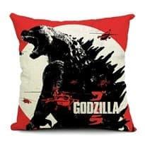 Подушка Годзилла кадры с фильма (Godzilla Movie) 44X44 см заказать в Москве