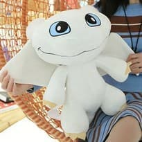купить Плюшевая игрушка белая Дневная Фурия 50 см