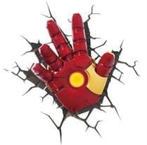 3D наклейка рука Железного Человека купить