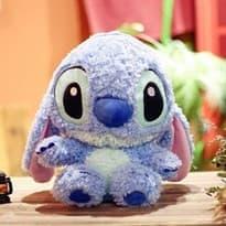 купить Мягкая голубая игрушка Стич