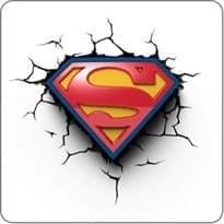 3D наклейка на машину логотип Супермена купить
