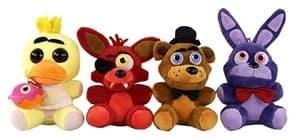 набор из плюшевых игрушек 5 ночей с фредди