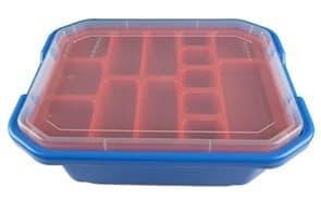 купить в Москве Красно-синий ящик для хранения лего игрушек