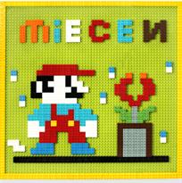 Лего доска на стену (Марио) купить