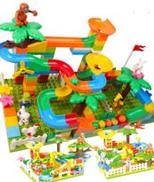 Лего доска на стену (Разноцветные джунгли)  купить