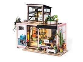 Румбокс интерьерный 3D конструктор студия Кевина (DIY House Kevin's Studio)