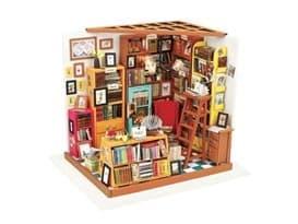 Интерьерный конструктор книжная лавка (DIY House Sam's Study) купить