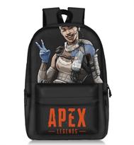 Черный рюкзак c Лайфлайн Apex Legends купить
