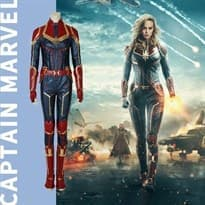 Костюм Капитана Марвел (Captain Marvel) купить в Москве