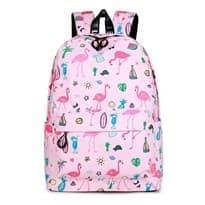 Рюкзак с фламинго (фиолетовый) купить дешево