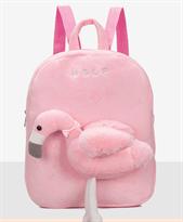 Детский рюкзак фламинго с поводком купить