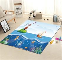 Коврик в детскую (Морская жизнь)  купить