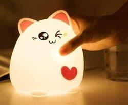 детская лампа кошка купить в Москве