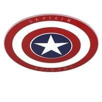 Светильник на потолок щит Капитана Америки купить в Москве