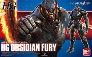 Obsidian Fury HG Pacific Rim model