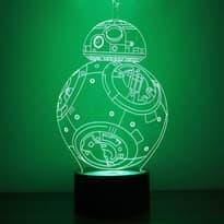 Светодиодная лампа на стол Дроид из звёздных войн купить в москве