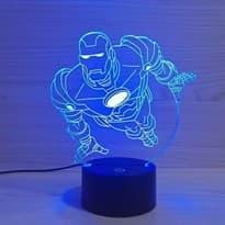 Светодиодная лампа Железный человек купить в Москве