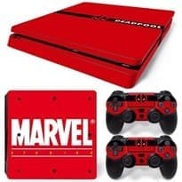 купить в москве Наклейку Марвел для PS4 Slim (Marvel)