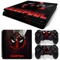 Наклейка Дедпул для PS4 Slim (Deadpool) купить в москве