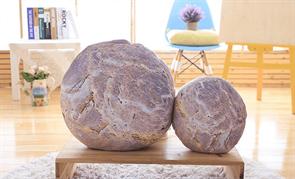 Плюшевая подушка камень купить