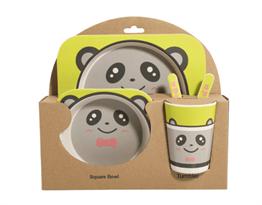 Бамбуковая посуда Панда купить