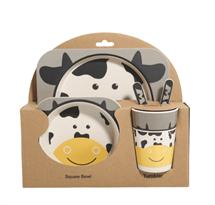 Бамбуковая посуда Корова купить