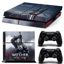 Наклейка для PS4 Геральт Witcher (Ведьмак) купить