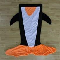 Оригинальный мягкий плед пингвин купить в москве