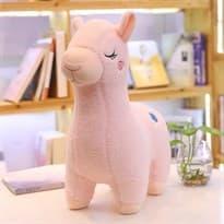 Плюшевый игрушка розовая Лама купить