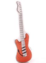 Плюшевая подушка красная гитара купить
