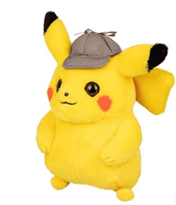 Мягкая игрушка детектив Пикачу в шляпе (20 см) купить в Москве