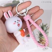 Брелок Кролик Кони Лайн с морковкой купить
